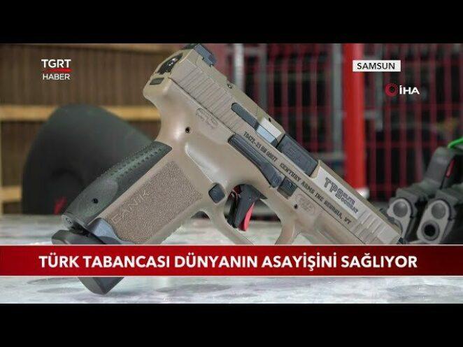 Türk Tabancası Dünyanın Asayişini Sağlıyor