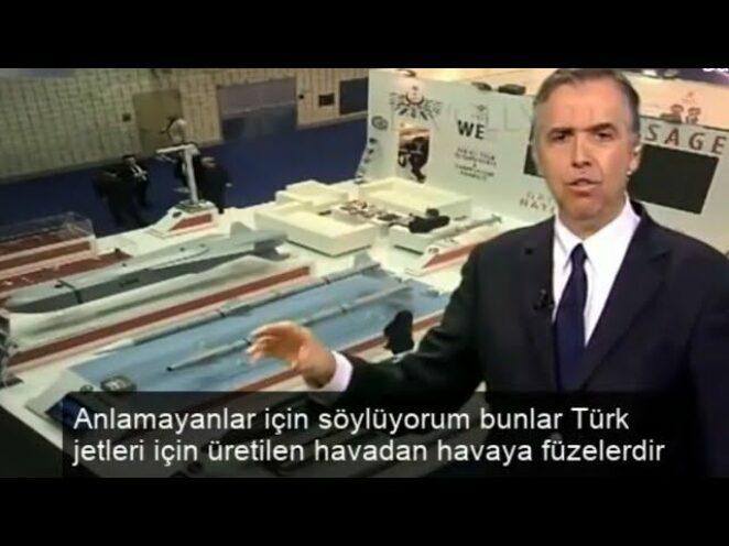 Türk jetleri için üretilen havadan havaya füzeler ( Yunan spiker )