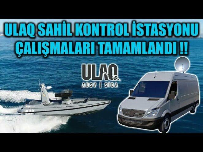 ULAQ SİDA 'NIN SAHİL KONTROL İSTASYONU ÇALIŞMALARI TAMAMLANDI !!