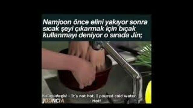 #jin mutfakta#rm yemek yapma deneyimi#army lerin yaptığı komik videolar#bts tiktok komik videolar