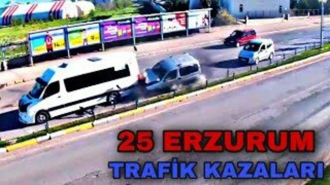 25 ERZURUM – TRAFİK KAZALARI
