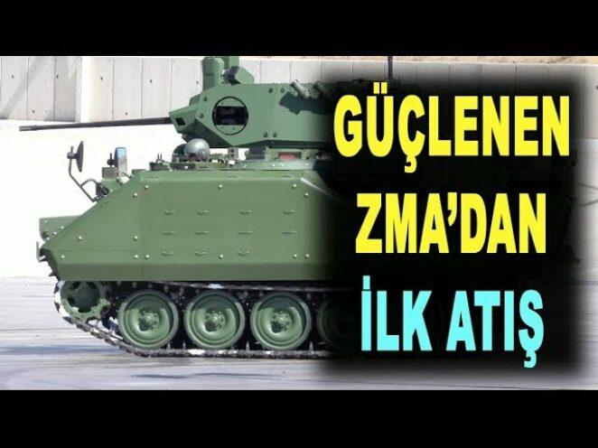 ASELSAN ve FNSS baştan yarattı: ZMA gücünü test etti – Savunma Sanayi – Türk Silahlı Kuvvetleri