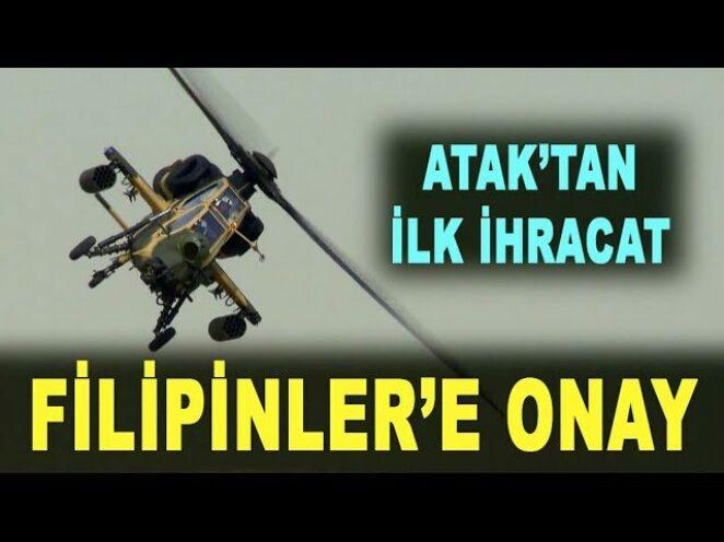 ATAK helikopteri Filipinler yolcusu – ATAK helicopter to the Philippines – Savunma Sanayi – TUSAŞ