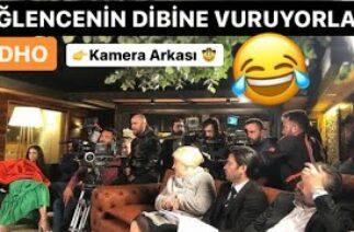 EDHO KAMERA ARKASI KOMİK ANLAR