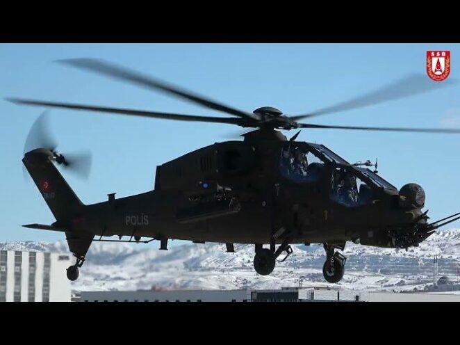 Emniyet'e T129 ATAK Helikopteri FAZ-2 versiyonunun ikincisi teslim edildi