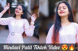 Famous Tiktok Star Hindavi Patil Tiktok Video  Full Marathi Tiktok Comedy Video  EP-373  #tiktok