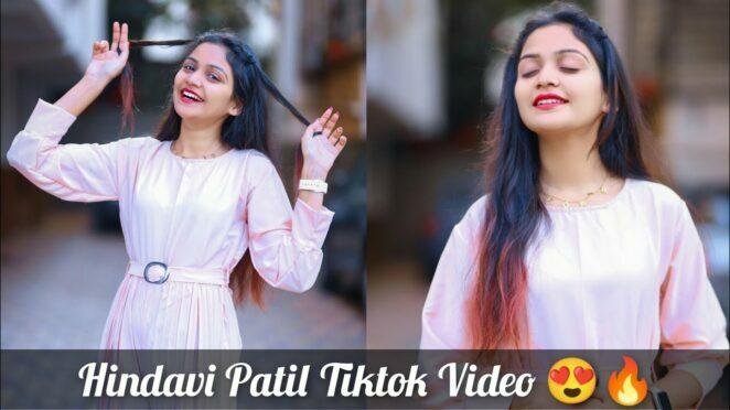 Famous Tiktok Star Hindavi Patil Tiktok Video||Full Marathi Tiktok Comedy Video||EP-373||#tiktok