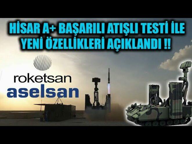HİSAR A+ BAŞARILI ATIŞLI TESTİ İLE YENİ ÖZELLİKLERİ AÇIKLANDI !!