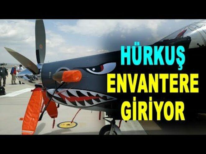 HÜRKUŞ ilk görevine hazır – HÜRKUŞ plane is ready for its first mission – Türk savunma sanayi TUSAŞ