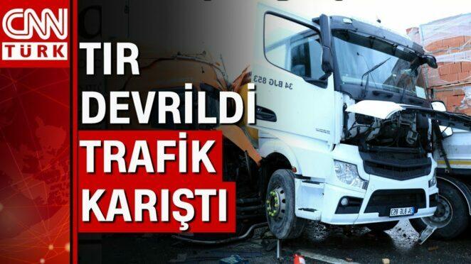 Kocaeli'de korkunç zincirleme trafik kazası! 24 araba birbirine girdi