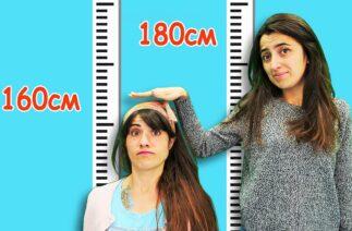 Komik video. Kısa boylu olmanın zorlukları! Eğlenceli video