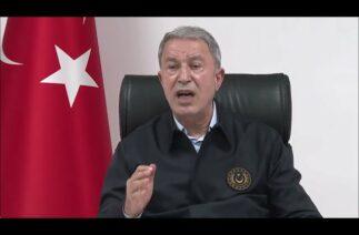 Milli Savunma Bakanı Hulusi Akar'dan İsrail'in saldırılarına tepki