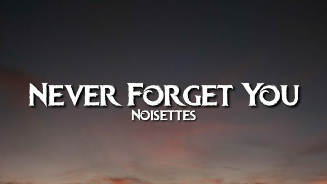 Noisettes – Never Forget You (Lyrics)   I'll never forget you   Tiktok Song