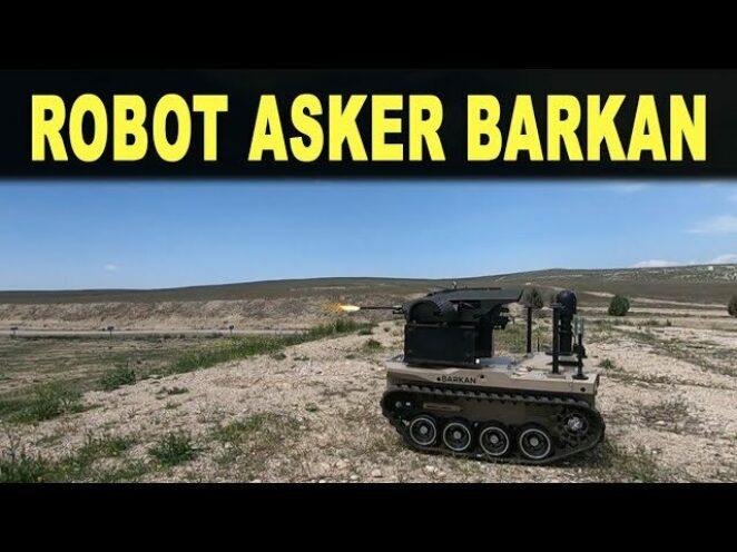 Robot asker BARKAN operasyona hazırlanıyor – Unmanned Ground Vehicle Barkan – Savunma Sanayi