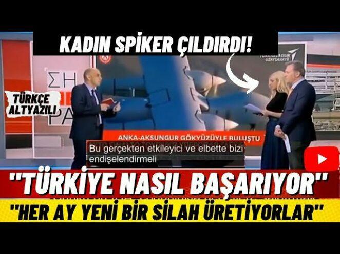 """SON DAKİKA! Yunan Basınında Aksungur Paniği! Türkler Her Ay Yeni Bir Silah Yapıyor! """"Durduralım"""""""
