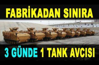 Sayıları hızla artıyor: TSK'nın tank avcıları – Kaplan STA – Pars 4×4 STA – Savunma Sanayi – FNSS