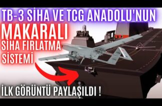 TB-3 SİHA VE TCG ANADOLU'NUN MAKARALI SİHA FIRLATMA SİSTEMİNİ HALUK BAYRAKTAR AÇIKLADI! SONDAKİKA !