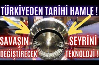 TÜRKİYEDEN DÜNYA SAVAŞ TEKNOLOJİSİNİN SEYRİNİ DEĞİŞTİRECEK HAMLE ! SERİ ÜRETİME GEÇİYOR !!