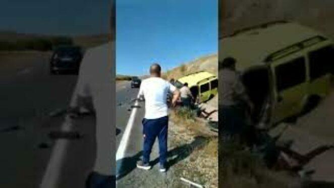 Trafik kazası sonrası