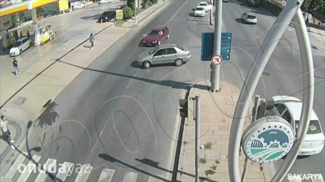 Türkiye'deki İnanılmaz Trafik Kazaları Mobese Kayıtları #13