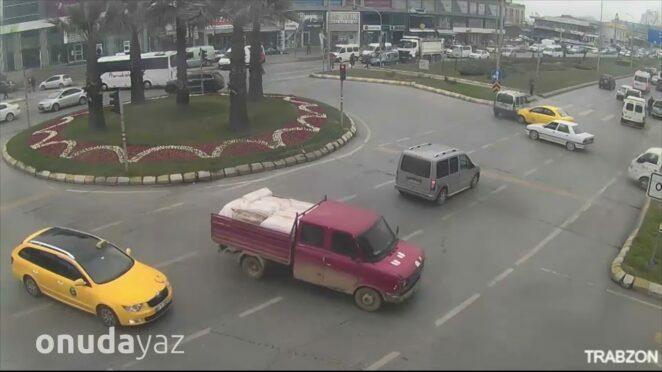 Türkiye'deki İnanılmaz Trafik Kazaları Mobese Kayıtları #19