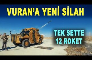 VURAN yeni silahıyla boy gösterdi: 107 mm ÇNRA – BMC – ROKETSAN – MKE – Savunma Sanayi – TSK