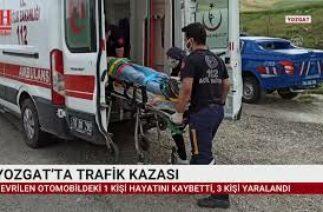 YOZGAT'TA TRAFİK KAZASI