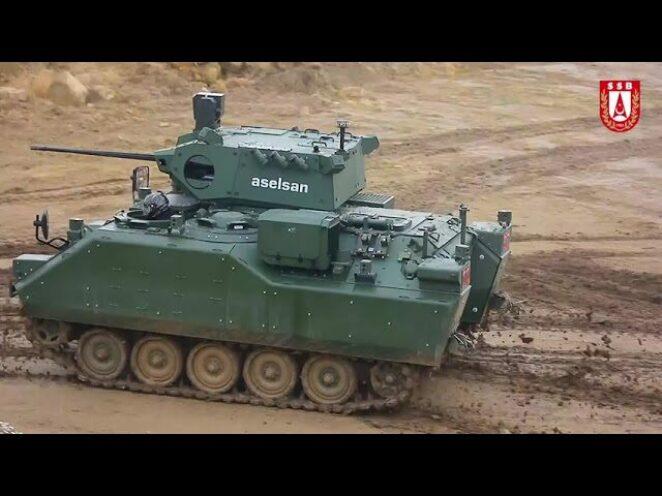 ZMA-15 Modernizasyonunda sürüş ve atış testleri yapıldı – Savunma Sanayi