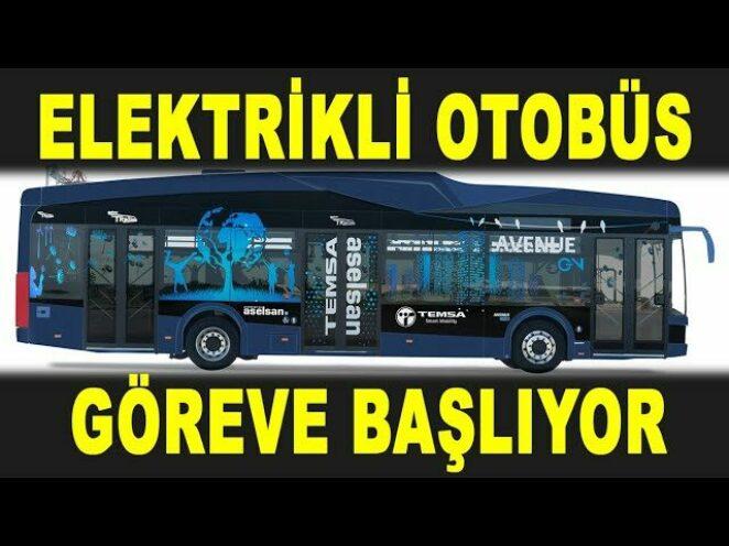 ASELSAN'ın elektrikli otobüsüne ilk görev – Samsun Akıllı Şehir Uygulaması – Savunma Sanayi – ASELS