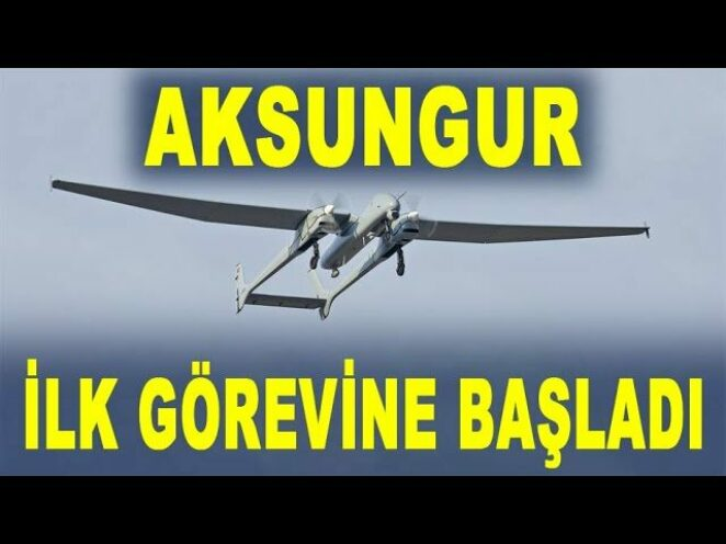 Aksungur İHA envantere girdi – Aksungur UAV entered the inventory – Savunma Sanayi – TUSAŞ
