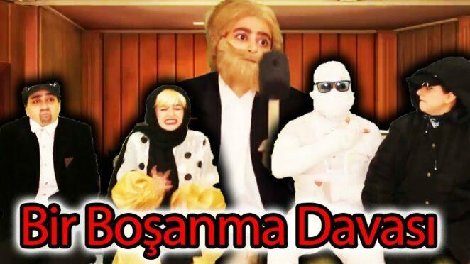 Bir Boşanma Davası ! Komik video ! Yeni Komedian !