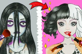Cruella de Vil TIKTOK Makeup Challenge   Beauty Hacks   WOA Barbie Story
