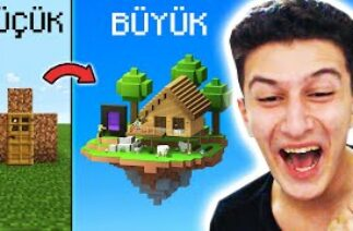 EVİMİ BÜYÜTTÜM 😂 Minecraft TikTok 4