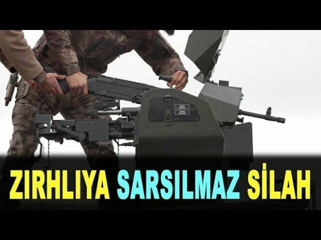 Jandarmaya yeni silah PMT 762 – New rifle for Turkish gendarmerie – Sarsılmaz – Savunma Sanayi