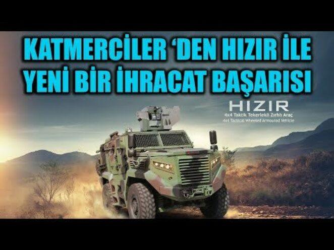 KATMERCİLER 'DEN HIZIR İLE YENİ BİR İHRACAT BAŞARISI !!