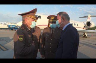 Milli Savunma Bakanı Hulusi Akar, Kırgızistan'da