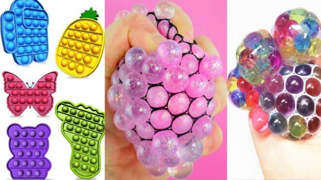 POP IT ASMR SATISFYING 😍 Fidget Toys TikTok Compilation #shorts