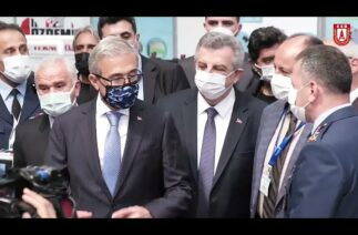 Prof. Dr. İsmail Demir'in Eskişehir Endüstri Fuarı ziyareti