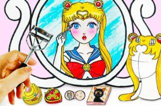 Sailor Moon Makeup Transformation | Makeup Tiktok Challenge | WOA Barbie Story