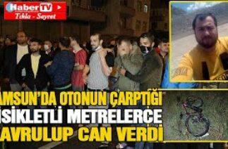 Samsun'da feci kazada can verdi – Samsun Haber – Samsun Haber Gazetesi