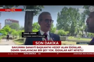 Savunma Sanayi Başkanı İsmail Demir, otel iddialarına 24'te yanıt verdi