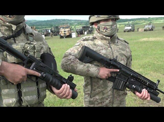 Steadfast Defender 21 Tatbikatı'nda; TSK'nın kullandığı araç gereç, silah ve teçhizat sergilendi