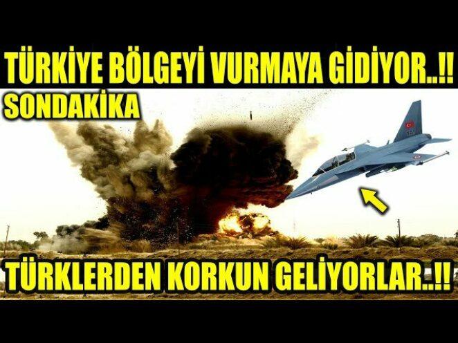 TÜRKLER BÖLGEYE GİRİYOR..!! RESMEN UYARDI TÜRKLER GİRERSE BAŞARIR..!!