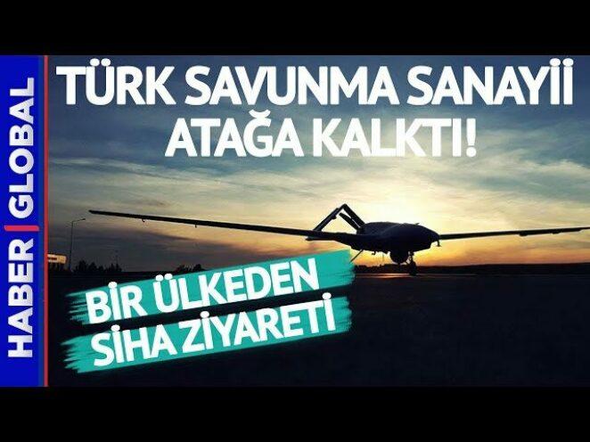 Türk Savunma Sanayii Atağa Geçti! Bir Ülkeden Daha SİHA Ziyareti
