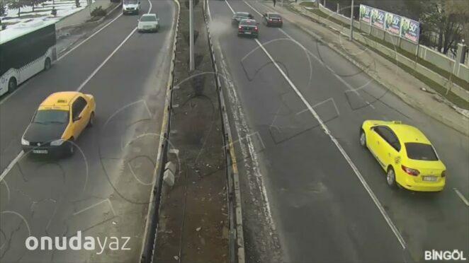 Türkiye'deki İnanılmaz Trafik Kazaları Mobese Kayıtları #14