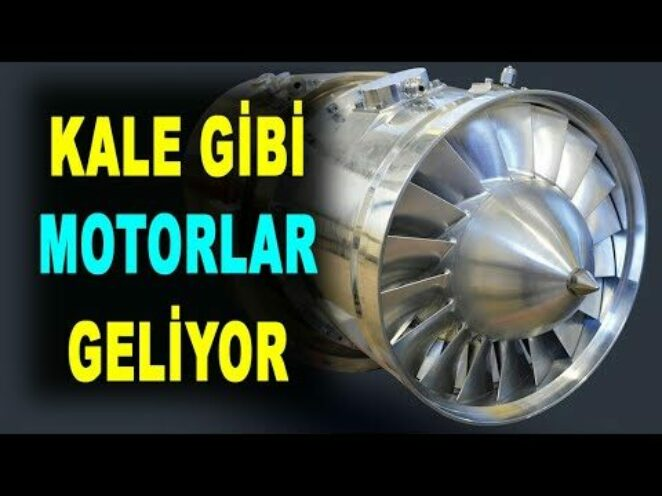 Türkiye'nin yeni turbojet motorları geliyor – Yerli Motor – KTJ3200 – Savunma Sanayi – Kale ArGe