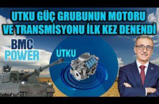 UTKU GÜÇ GRUBUNUN MOTORU VE TRANSMİSYONU İLK KEZ ÇALIŞTIRILDI !!
