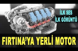 Yerli motor UTKU ortaya çıktı: Fırtına obüsüne güç verecek – Savunma Sanayi – BMC Power Yerli Motor