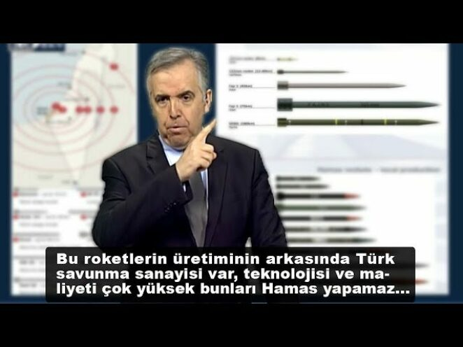 """Yunan Spiker: """"Hamas'ın Roket üretiminin arkasında Türk savunma sanayisi var, bu kadar füze…"""""""