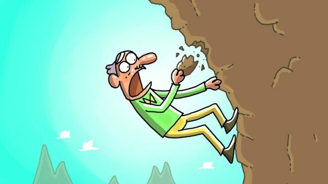 A Dangerous Hike   cartoon Box 247 by Frame Order   Funny Animated Cartoons